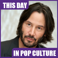 Keanu Reeves was born on September 2, 1964