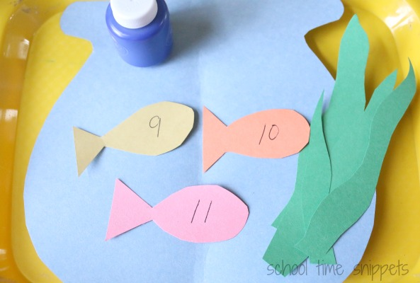 fish theme fingerprint activity