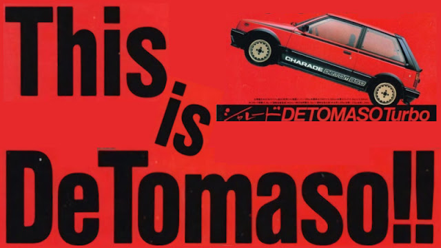 This is de Tomaso