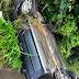 Motorista perde controle e carro capota na BA-046, próximo à Nazaré das Farinhas