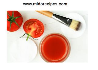 ماسك الطماطم لعلاج البشرة الدهنية