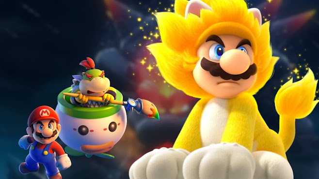 Super Mario 3D World + Bowser's Fury gameplay