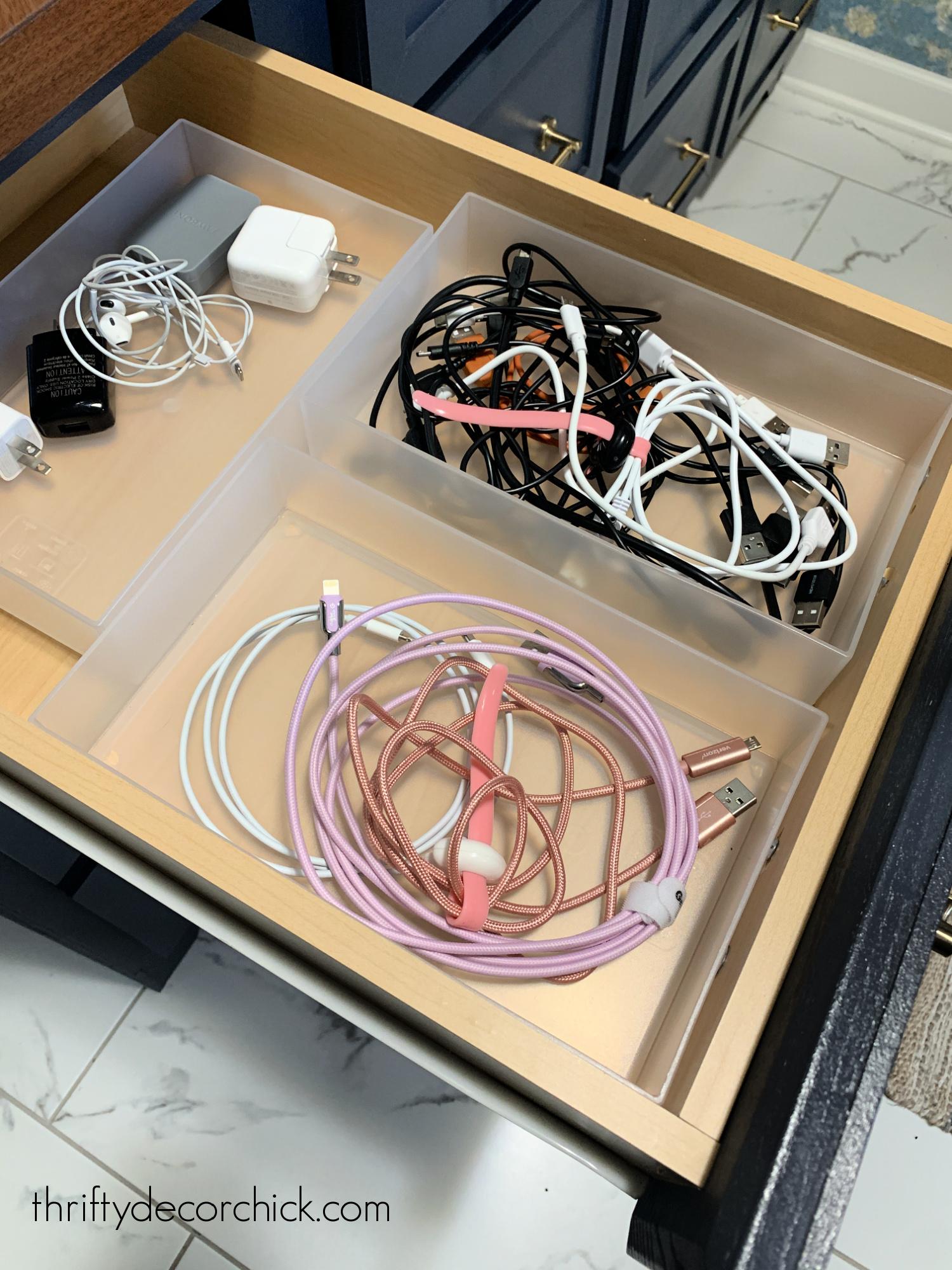 prevent sliding in drawers