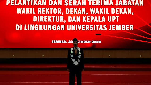 Dilantik Jadi Dekan Fakultas Pertanian UNEJ, Profesor Soetriono Janji Tetap Komitmen Bina Tenis Jember dan Jatim