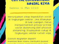 Pekan Minggu Ceria: Cintai Lingkungan Sosial Kita (Selasa, 12 Mei 2020)