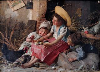 cuadros-de-personas-en-días-cotidianos pinturas-personas-arte-oleo