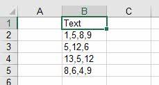 Thủ thuật tách chuỗi thành số trong excel6