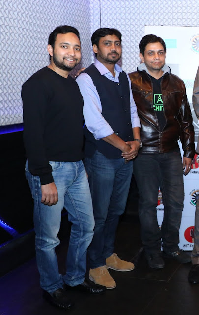 Pic6 L to R Ashish Gupta, Amit Juneja and Yashvir Singh