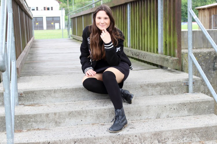 1000 Fragen an mich selbst, 1000 Fragen, OotD Collegejacke, Blogparade, fashionblogger