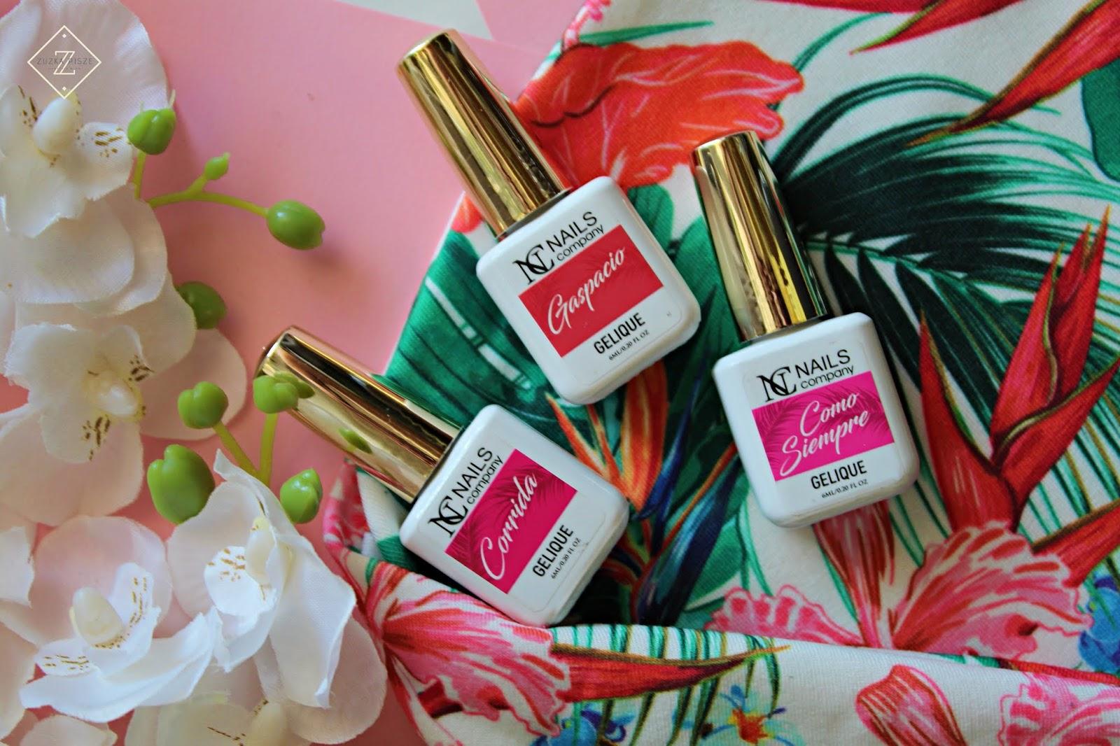 VIVA ESPANA - kolekcja lakierów hybrydowych NC Nails Company