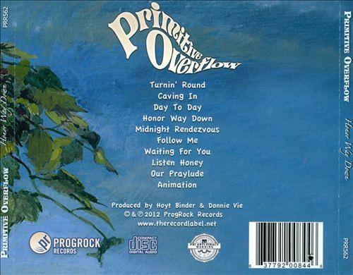 PRIMITIVE OVERFLOW (Donnie Vie) - Honor Way Down (2012) back