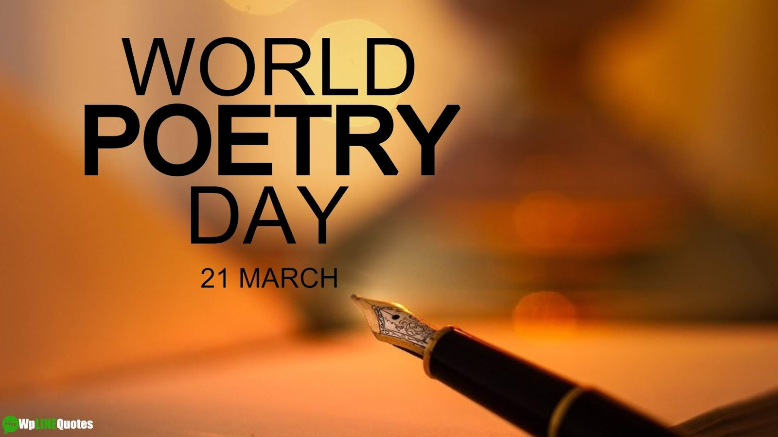 World Poetry Day Quotes, Activities, Poster, Images
