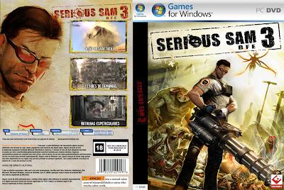 Serious Sam 3 BFE PC DVD Capa