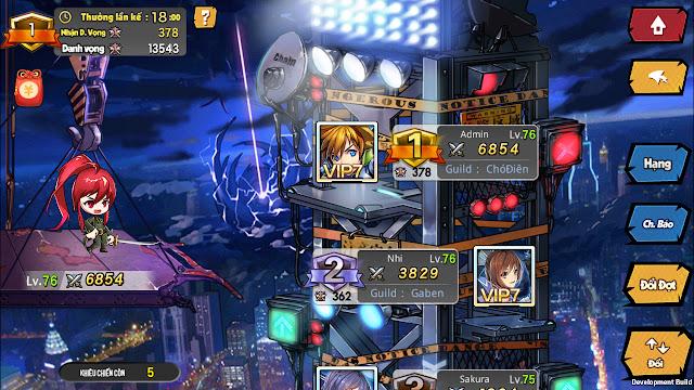 Vũ Trụ Manga là tựa game có hoạt động nhiều, cày thả ga 3