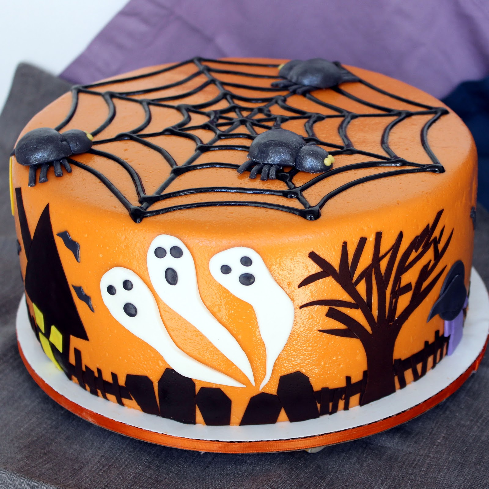halloween ideas cakes