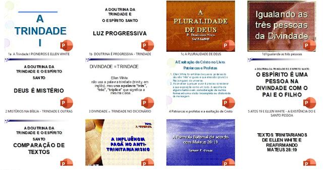 25 Palestras Trindade adventista