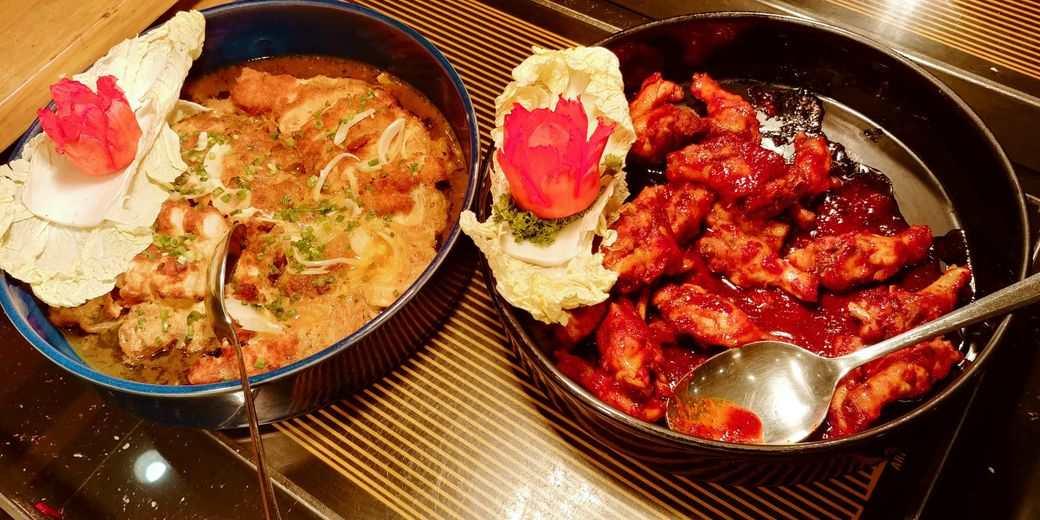 Sambo Kojin Korean cusine