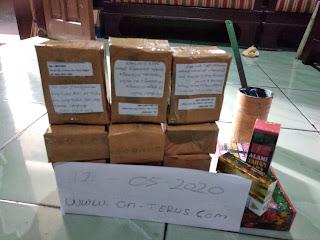 Dokumentasi pengiriman paket pekan kemarin Periode Tgl 11 - 17 Mei 2020