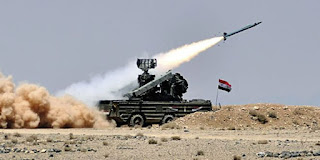 Syrian Air Force downed more than 70 missiles