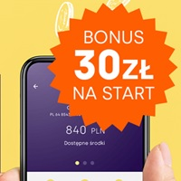 Bonus 30 zł za konto w Aion Banku