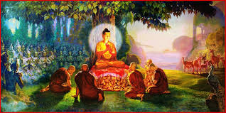 """Buddha's """"freed from pleasure and from pain"""""""