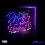 Young Blacc & Chris Brown - Partyin' Next Door - Single  Cover