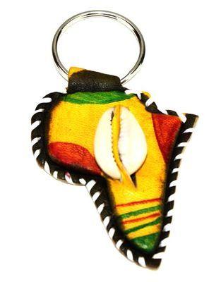 Le porte-clé africain, fabriqué 100% à la main : Art, Porte, clés, artisanal, motif, carte, cuir, caurie, sandale, tambour, voiture, bijou, sac, perles, tendance, LEUKSENEGAL, Dakar, Sénégal, Afrique