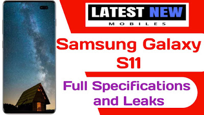 Samsung Galaxy S11 full specifications