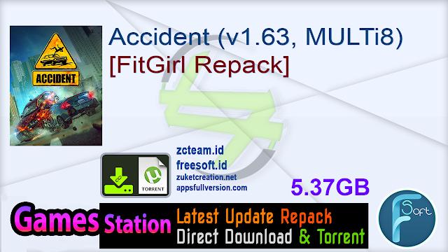 Accident (v1.63, MULTi8) [FitGirl Repack]
