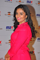 Sree Mukhi in Pink Kurti looks beautiful at Meet and Greet Session at Max Store (39).JPG