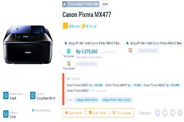 Canon Pixma MX477