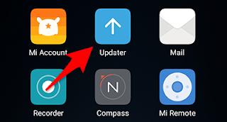Saya sendiri adalah pengguna hp android xiaomi redmi note  Menu System update xiaomi hilang dari home screen setelah update miui versi 9 ?