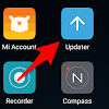 Menu System Update Xiaomi Hilang Dari Home Screen Sehabis Update Miui Versi 9 ?