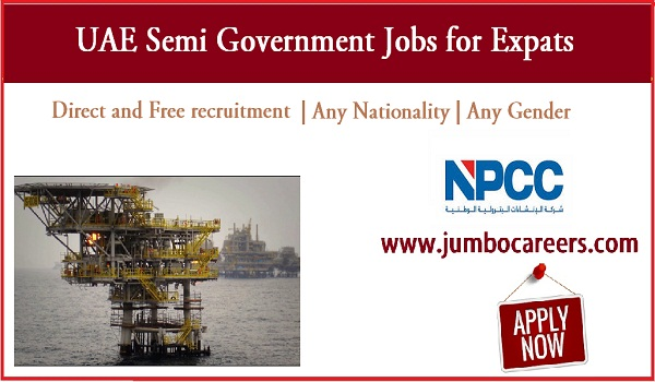Semi Government jobs for Indians, Find all new jobs in UAE,