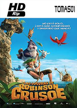 Las locuras de Robinson Crusoe (2016) HDRip