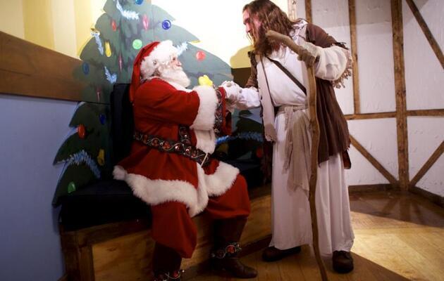 Diferencias entre Jesús y Santa Claus