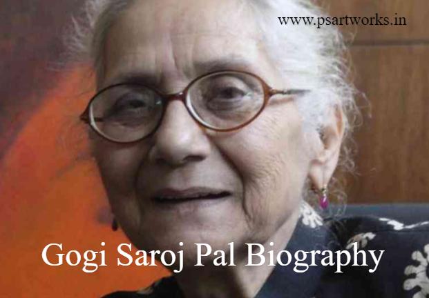 Gogi Saroj Pal Biography