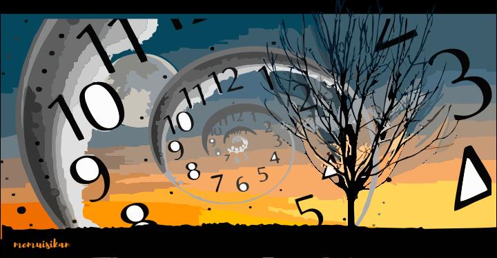 dimensi waktu, mita sari, memuisikan