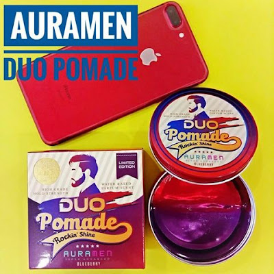 Auramen duo pomade blueberry 150gm