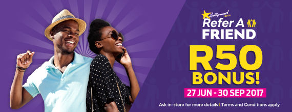 Hollywoodbets-Refer-A-R50-Bonus