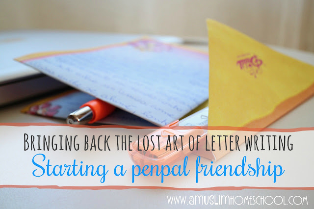 learning to write letters and discover the world with a penpal