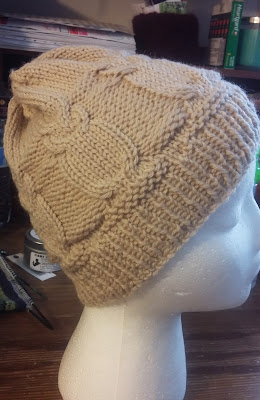 Harry Potter owl hat knit with Wool of the Andes from knit picks http://shareasale.com/r.cfm?b=726901&u=1446317&m=59159&urllink=&afftrack=