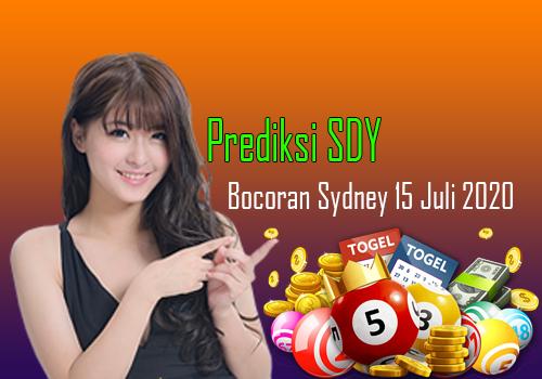 Bocoran Prediksi Togel Sydney 15 Juli 2020