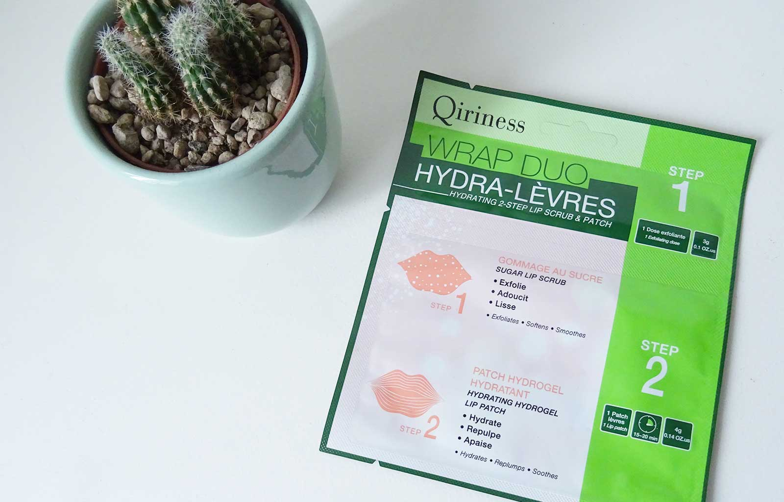 Wrap duo hydra-lèvres Qiriness