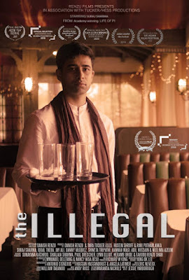 The Illegal (2019) English 720p WEB HDRip HEVC ESub x265