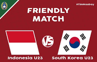 Indonesia vs  Korea Selatan 1-2 Friendly Match Highlights