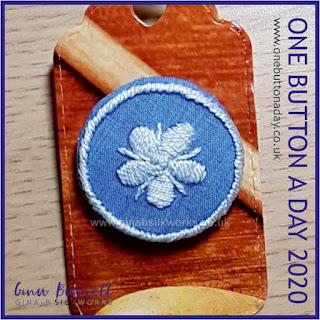 Day 306 : Jasper - One Button a day 2020 by Gina Barrett