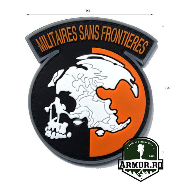 Patch Militaires Sans Frontieres