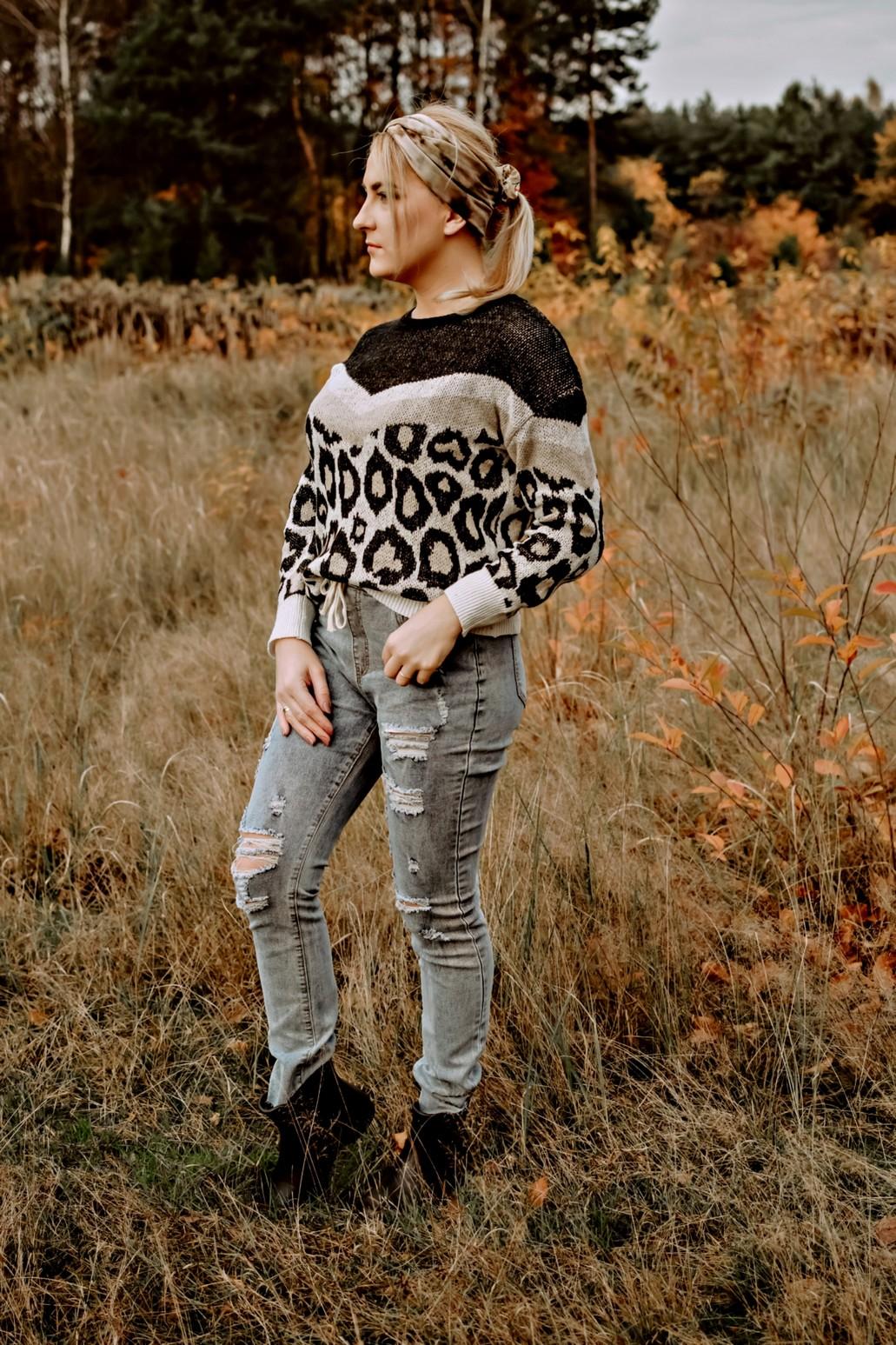 Panterka i jeansy