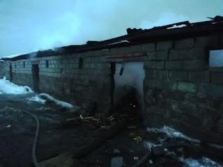 пожаре в селе Филатовское
